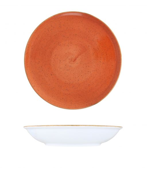 Teller tief coup 23cm CLASSIC sunset red