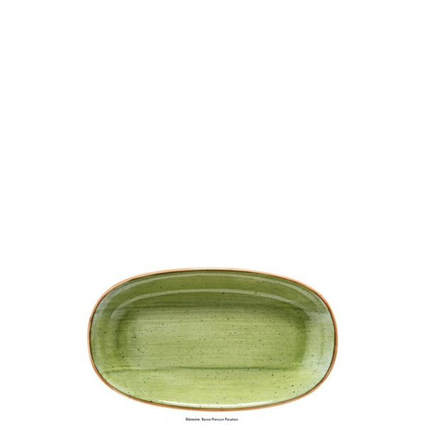 Platte oval 19 x 11cm AURA THERAPY GOURMET
