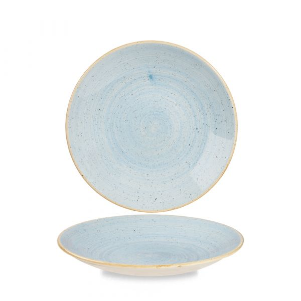 Teller tief coup 22,5cm STONECAST duck egg blue