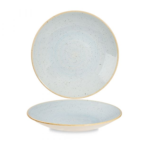 Teller tief coup 25,5cm STONECAST duck egg blue