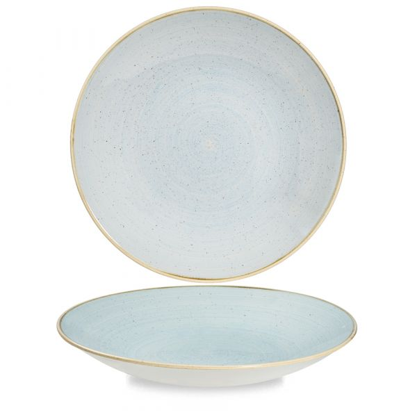Teller tief coup 28,1cm STONECAST duck egg blue