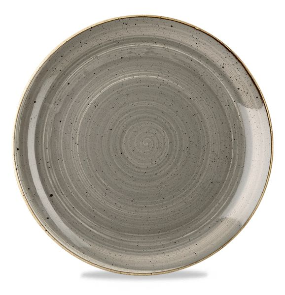 Teller flach coup 32,4cm STONECAST peppercorn grey