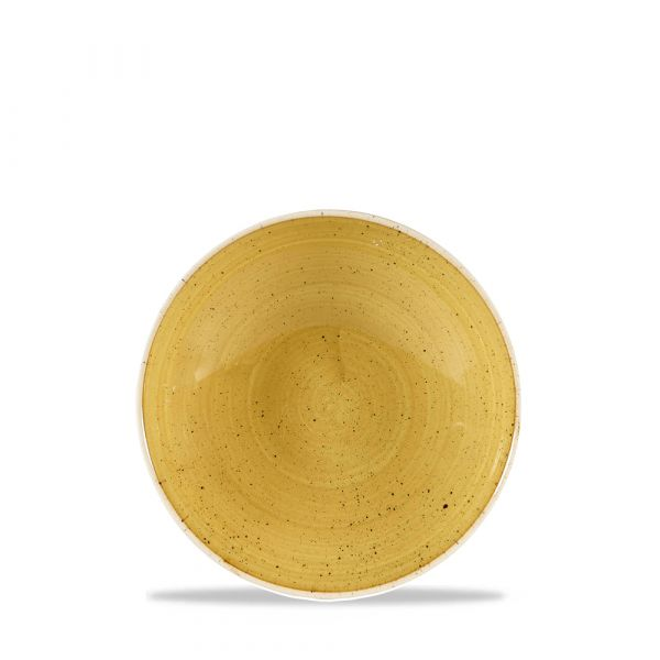 Teller tief coup 18,2cm STONECAST mustard seed yellow