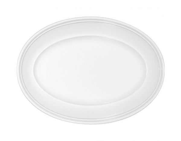 Platte oval steile Fahne 20x13,5cm COME4TABLE