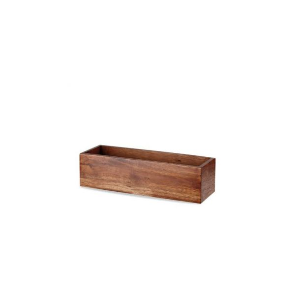 Buffet-Box eckig 56x18x20cm ACACIA WOOD