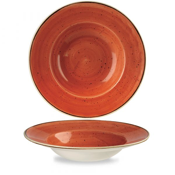 Teller tief 28cm STONECAST spiced orange