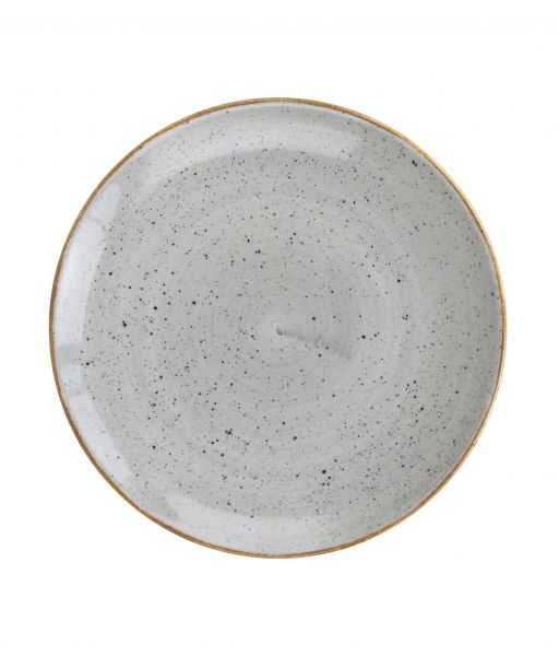 Pizzateller flach coup 32cm CLASSIC dusty grey