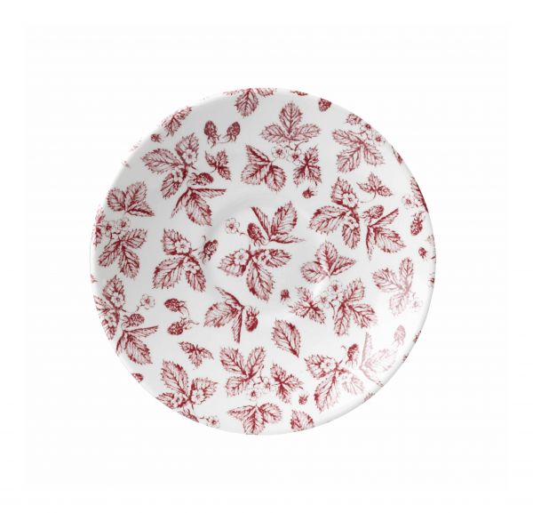 Untertasse 14cm VINTAGE PRINTS cranberry bramble
