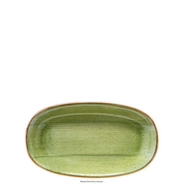 Platte oval 24 x 14cm AURA THERAPY GOURMET