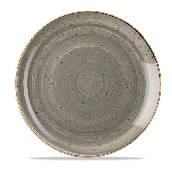 Teller flach coup 28,8cm STONECAST peppercorn grey