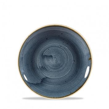 Teller flach coup 16,5cm STONECAST blueberry