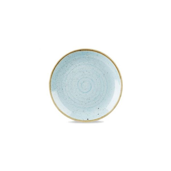 Teller flach coup 32,4cm STONECAST duck egg blue