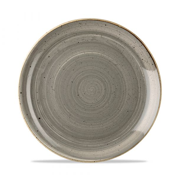 Teller flach coup 21,7cm STONECAST peppercorn grey