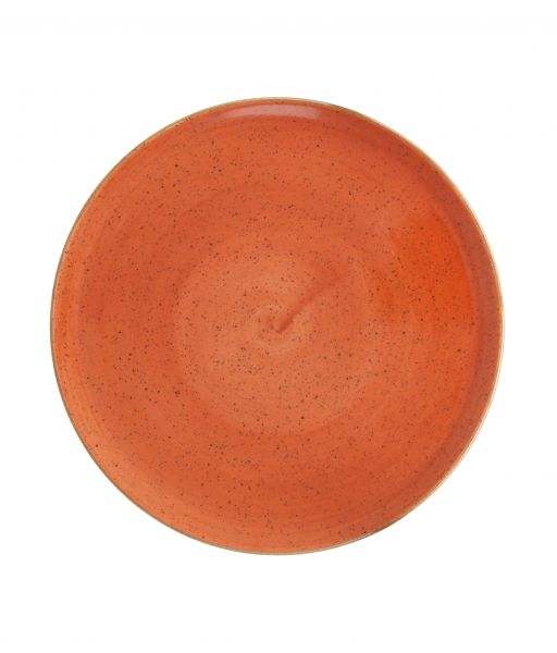Teller flach coup 21cm CLASSIC sunset red