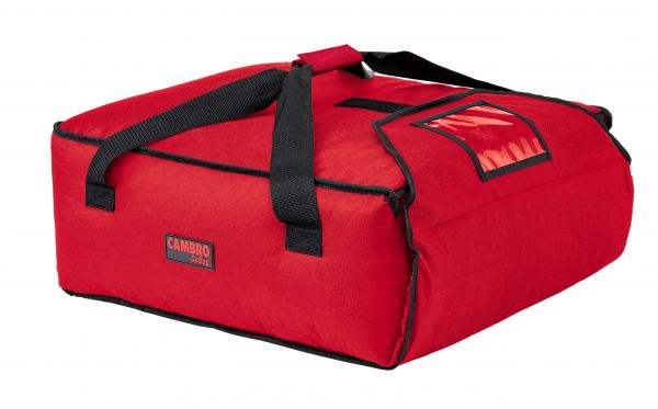 Pizzatasche 44,5x51x19cm Polyester rot