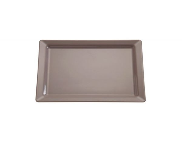 GN 1/2 Tablett PURE COLOR 32,5x26,5cm H:3cm taupe