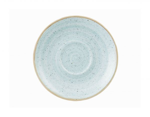 Untertasse 16cm STONECAST duck egg blue
