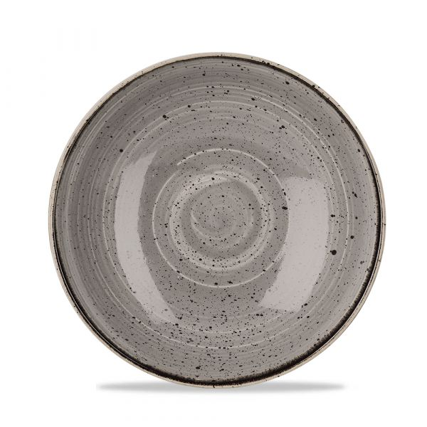 Schale coup 24,8cm STONECAST peppercorn grey