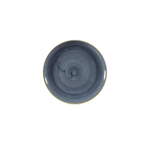 Teller flach coup 26cm STONECAST blueberry
