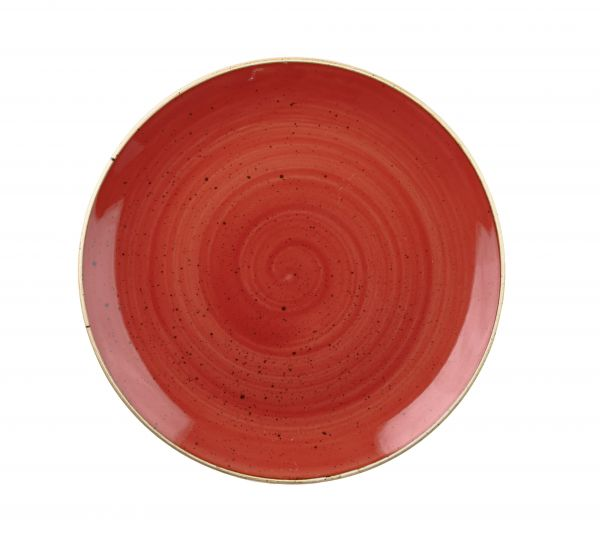 Schale coup 24,8cm STONECAST berry red